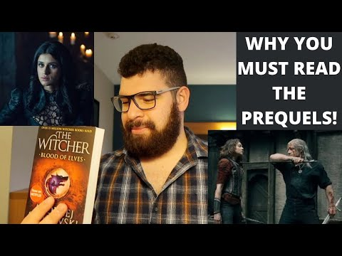Why you must read the prequels first! the witcher blood of elves review | booktube | 2021 tbr