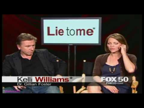 Tim Roth & Kelli Williams FOX 50 Lie to me Interview