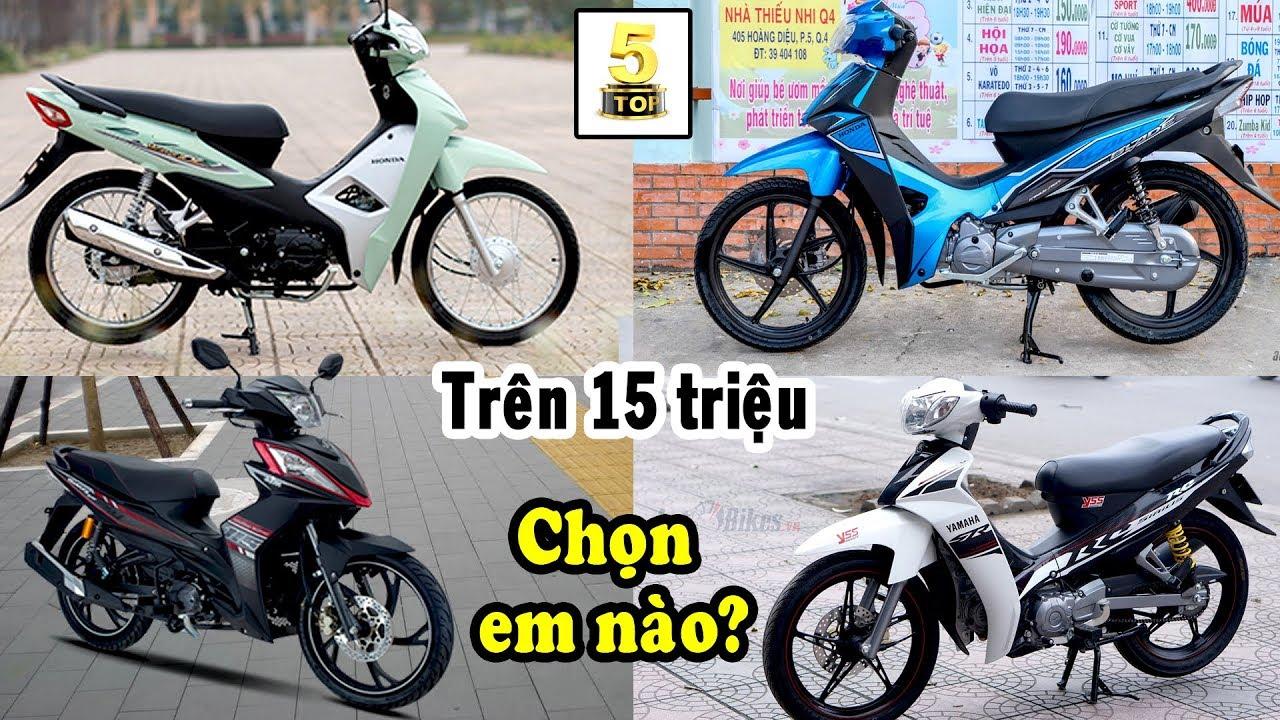 15 triệu chọn xe máy nào đây…? ▶ Nên chọn xe máy nào với mức giá từ 15-20 triệu 🔴 TOP 5 ĐAM MÊ