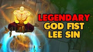 LoL LEGENDARY God Fist Lee Sin Skin Spotlight - League of Legends