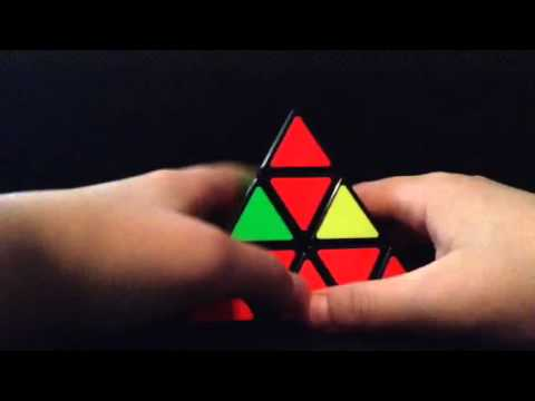how to solve pyraminx step by step