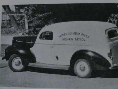 British Columbia Provincial Police 1858 -1950