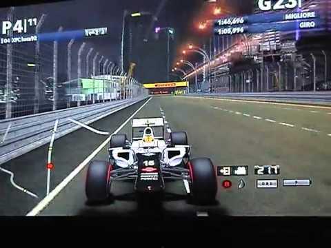 F1 2012 | DRS  Team Italia | GP3 Series Asia e America Round 06 | Marina Bay