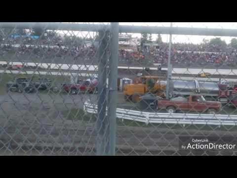 Mel Decker Racing 7/8/17 Skagit Speedway Main w/ Sound