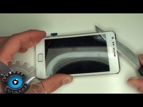 Samsung Galaxy S2 Glas Tauschen Wechseln Reparieren [Deutsch/German][HD]Glass repair
