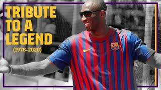 Barça tribute to Kobe Bryant