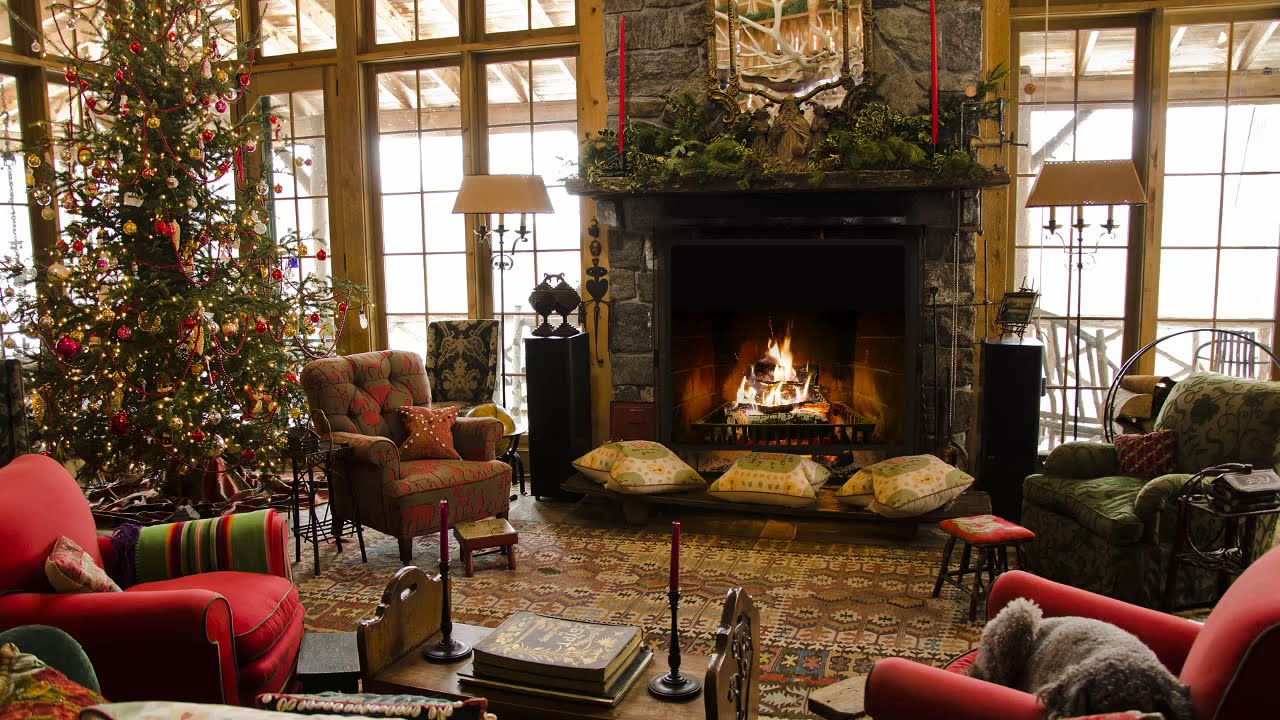 Fireplace With Christmas Music.Instrumental Christmas Music With A Fireplace And Beautiful Background Non Copyright 1 Hour 2019