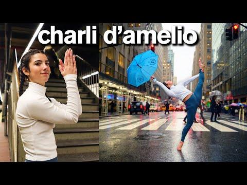 Charli D'Amelio's 10 Minute TikTok Photo Challenge *now i'm TikTok famous*