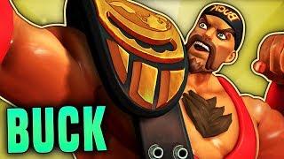 BUCK MAX ENSNARE (1350+ PER SHOT) | Paladins Buck Gameplay & Build
