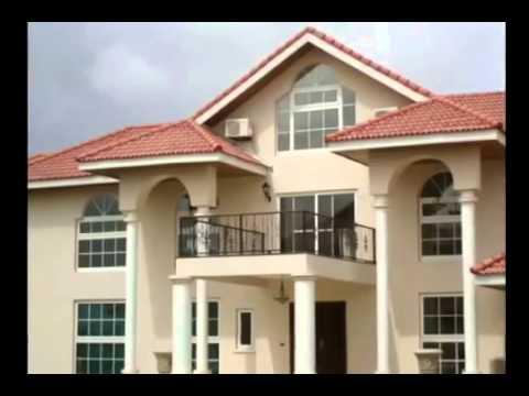 Houses in Accra Ghana