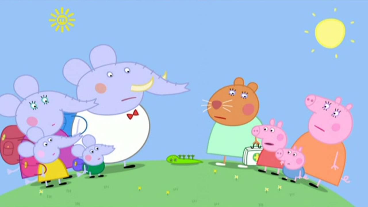 Peppa Pig - The Flying Vet (13 episode / 4 season) [HD]