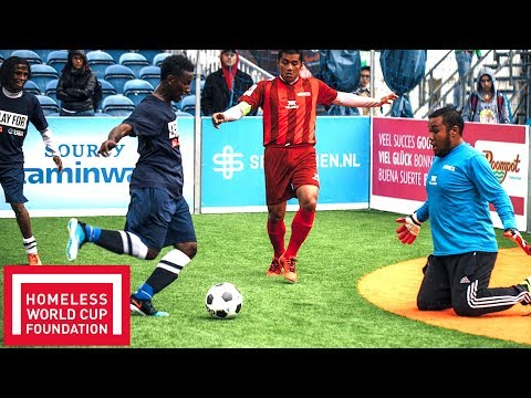 Best Goals from Day 1 in Amsterdam! | Throwback | Homeless World Cup