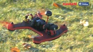 * FAST * Holybro SHURIKEN 250 RACING DRONE/QUAD (GearBest.COM): Essential RC Flight Test