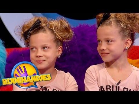 De tweelingtest met Janey & Chayen | Bijdehandjes | SBS6