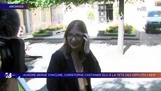 Yvelines | 7/8 Le Journal (extrait) – Aurore Bergé s'incline au 2nd tour de l'élection interne LREM