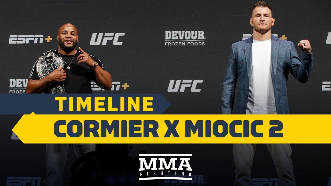 UFC 241 Timeline: Daniel Cormier vs. Stipe Miocic 2 - MMA Fighting