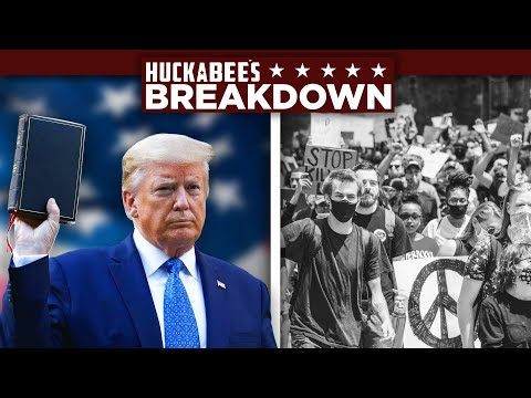 BREAKDOWN: They're LYING TO YOU About The Riots & Another DEEP STATE Swamp Creature GONE! | Huckabee