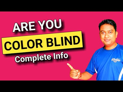 Color Blindness Test In Hindi Colur Vision Test Om Talk Youtube