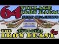 The Iron Beast 64, a 64 Village Self Stacking Iron Farm, Minecraft 1.11