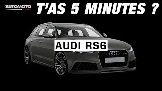 Gambar cover T'as 5 Minutes - AUDI RS6
