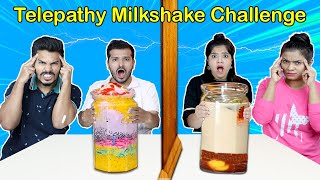 Twin  Telepathy Milkshake Challenge | Food Challenge India | Hungry Birds