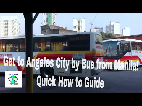 How to get to Angeles City with Victory Liner Bus from Pasay Terminal | S1:V4 (Philippines)