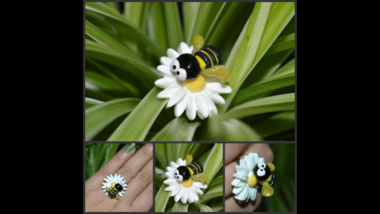 Tuto fimo abeille