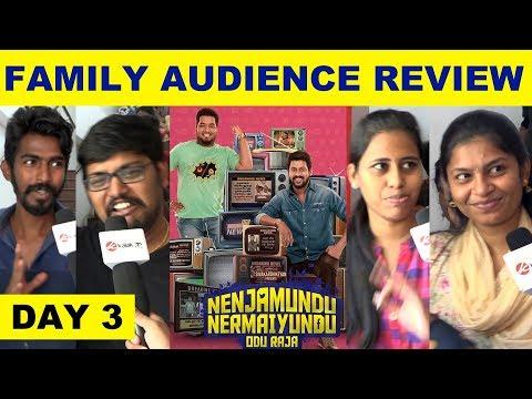 Nenjamundu Nermaiyundu Odu Raja Family Audience Review - Day 3   Sivakarthikeyan   Rio   RJ Vignesh