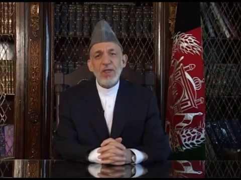 آخرین جملات حامد کرزی رئیس جمهور پیشین افغانستان