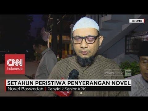 Novel: Saya Pesimis & Tidak Yakin Kasusnya Tuntas: 1 Tahun Peristiwa Penyerangan Novel