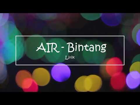Air - Bintang Lirik