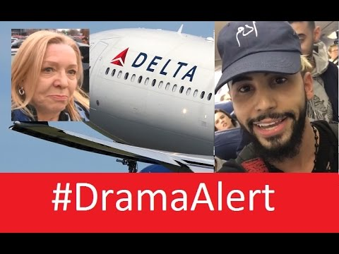 INTERVIEW: Passenger on Adam Saleh Delta Flight! #DramaAlert Adam Saleh Kicked Off Delta Flight!