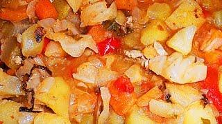 GVK : Рагу. Овощное рагу. Как приготовить овощное рагу. Вкусное рагу. Готовим овощное рагу.