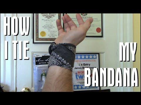 How I Tie My Bandana