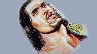 Speed Drawing: The Great Khali WWE Star