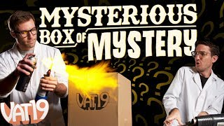 Burning Questions: Mysterious Box of Mystery