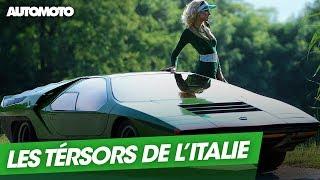 Alfa Romeo, Lamborghini, Ferrari : Les trésors de l