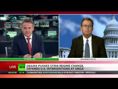 Brian Becker RT TV interview on UNGA