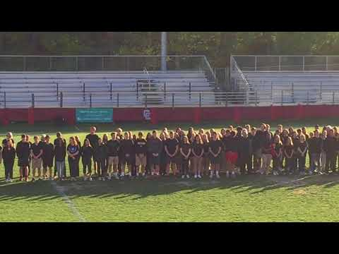 Memorial event at Charlotte Catholic High School