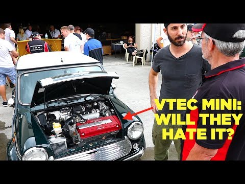 Taking the VTEC Mini To A Classic Car Meet (Will they hate it?)