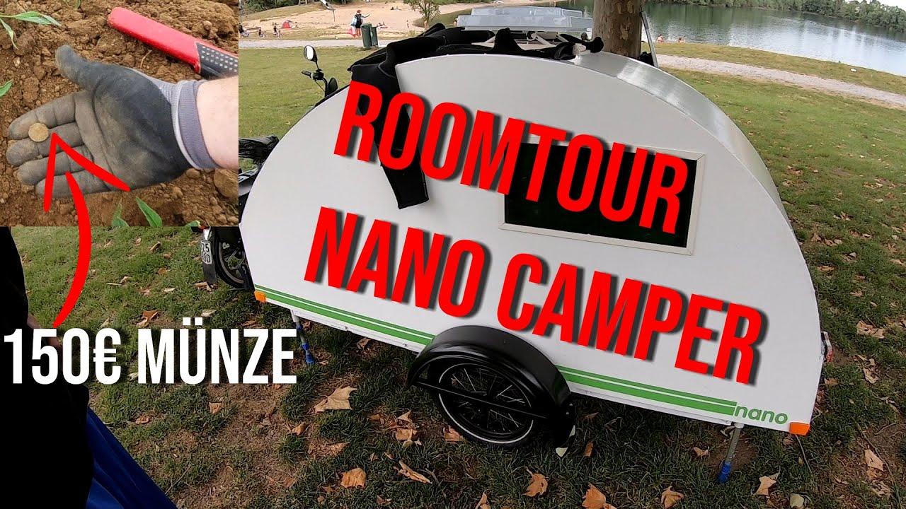 Roomtour im Nano Camper + 150 Euro Münze gefunden / VLOG 11