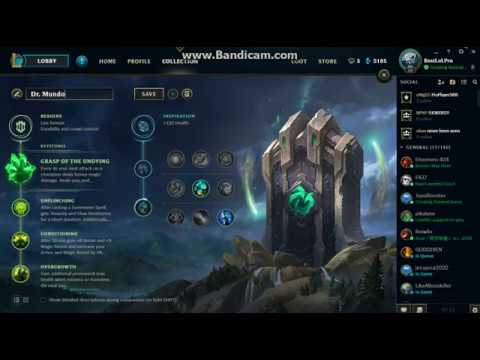 Dr mundo rune s8 youtube for Mundo top build