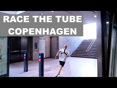 KAPLØB MED METROEN - RACE THE TUBE COPENHAGEN