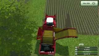 Farming simulator 2013 ........how many taters can the shed hold whollllly