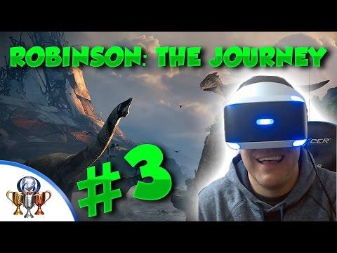 Robinson: The Journey [PSVR] The Jungle Walkthrough - Platinum Let's Play (PART 3)