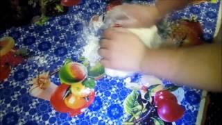 Жареные пироги с капустой