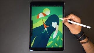 Umbrella ⛱ iPad Pro Drawing iPad 検索動画 15