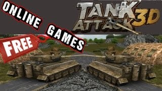 Tank Attack 3D Gameplay PC HD
