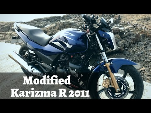 Hero Karizma R 2011 Restoration   Hero Honda Modified Karizma R   Complete Modification Update