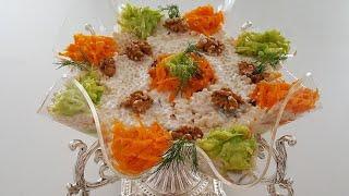 Dünyanın En Güzel Salatası-Salatamın Adı Ne Olsun ?-Salata Tarifleri-Gurbetinmutfagi